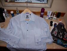 men's lux Paul Smith french cuff dress shirt Italy sz 17 43 (17 35 USA sizing)