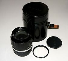 Great MF Nikon Nikkor-P 105 mm F/2.5 non-Ai Lens for Nikon photo+video