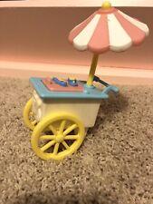 Fisher Price Loving Family Vintage Ice Cream Cart 1995
