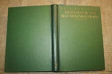 Fachbuch Gießerei, Schmieden, Pressen, Walzwerk, Schmiede, Maschinenbau, 1953