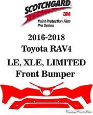 3M Scotchgard Paint Protection Film Pro Serie 2016 2017 2018 Toyota Rav4 Limited