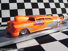 Straightlines '55 Chevy Pro Mod Clear Lexan Drag body SL14  Mid-America Raceway