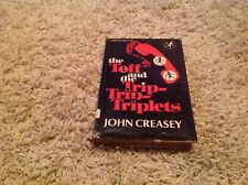 """""""The Toff and The Trip-Trip-Triplets"""" John Creasey HB DJ 1972"""