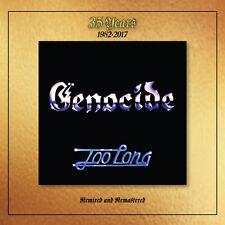 GENOCIDE - Too Long 1982-2017 (NEW*LIM.500*US 80`s METAL/HARD ROCK*JUDAS PRIEST)