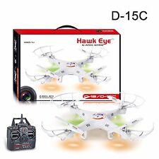 D-15 Drone 4ch Control Remoto Quad Copter 360 grados 3D acrobacias