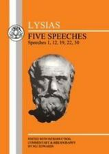 Lysias: Five Speeches (BCP Greek Texts), General,Language,Language Arts / Lingui