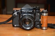 Pentax 67 Medium Format Slr Film Camera with 105 mm f2.4 Lens and Four Filters
