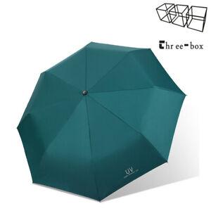 THREE-BOX Travel Umbrella Windproof Collapsible Auto Open Close Folding