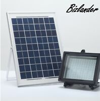 Bizlander Outdoor IP65 10W 108LED Solar Powered Flood Light Street Light