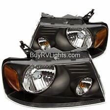 FOREST RIVER GEORGETOWN 2006 2007 2008 2009 BLACK HEADLIGHTS HEAD LIGHTS PAIR RV