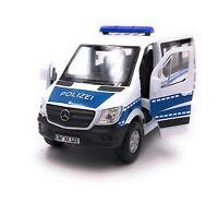 Mercedes Benz Sprinter Polizei Modellauto mit Wunschkennzeichen Maßstab 1:34