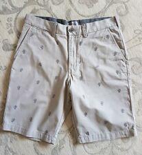 M&S Collection Mens Chino Cactus Grey Shorts 32