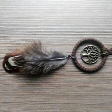 NEW Keychain Handmade Dream Catcher Feather Car Hanging Decoration Decor Craft