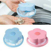 Mesh Filtering Hair Removal Floating 2Pcs Filter Bag Washer Style Laundry Clean