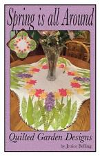 Spring is All Around Tulip Easter Table Mat Centerpiece Quilt Pattern