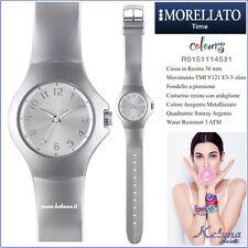 Orologio Morellato Unisex Colours  R0151114531 -49- Resina 36 mm - Argento