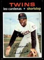 1971 Topps Leo Cardenas Minnesota Twins #405