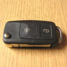 Coque Clé Plip Telecommande 2 Boutons VW Golf 4 5 Bora Polo 9n 9n3 Passat B6 T5