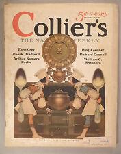 Collier's Magazine - November 30, 1929 ~~ Maxfield Parrish cover