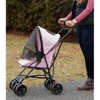 Pet Gear Travel Lite Pet Stroller PINK TL8150PK
