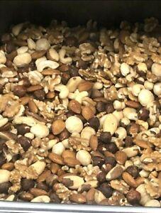 1kg Unsalted Mixed Nuts Almonds walnuts macadamia hazelnuts brazil nut cashew Ha