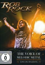 Rob Rock: The Voice of Melodic Metal - Live in Atlanta (2009, REGION 0 DVD New)