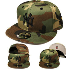 New Era MLB New york Yankees 9Fifty Snapback Hat Green Camouflage Camo Cap