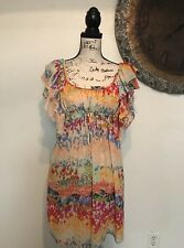 The Garden Collections By H&M Women's Sheer Dress MultI Color Sz 4