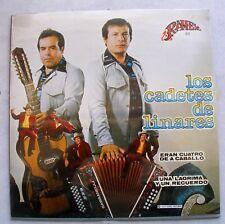 LP LOS CADETES DE LINARES  ´´ERAN 4 DE A CABALLO ´´    LP  NEW