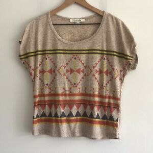 Forever 21 Printed Short Sleeve Tee Size SP