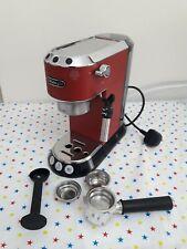Mondadori EC685R Boulez stile macchina per il caffè Espresso Pompa, Rosso