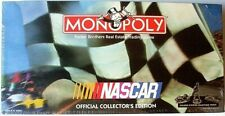 NASCAR MONOPOLY>FACTORY-SEALED GAME>NEW IN WRAPPER