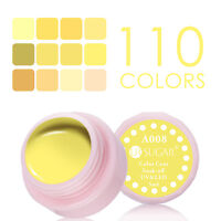 5ml UR SUGAR Soak Off Nail UV/LED Gel Polish Yellow Color Coat  Varnish