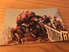 Postcard motorcycle Sidecar Cross CP