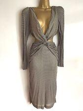 Topshop V-Neck Dresses Midi