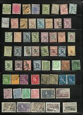 Lot 54, 2021: 84 Finland Stamps from 1889 thru Mid 1900's