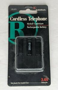 Rechargeable Battery 3.6V Nickel Cadmium for Cordless Telephone - New In Package