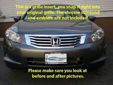 08-2010 Honda Accord chrome grille grill insert trim 4dr sedan