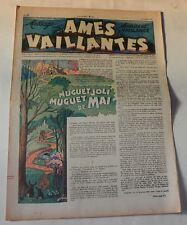 AMES VAILLANTES  Sourire et Vaillance - Numéro 12 du 23 mars 1947