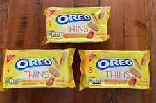 New listing (3) Nabisco Oreo Thins Salted Caramel Net Wt 10.1 Oz Best By 8/2019