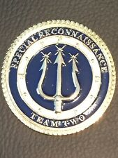 Very rare SEAL Team Two Special Reconnaissance Challenge Coin