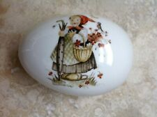 Sister Berta Hummel originals in porcelain trinket box West Germany Schmid Rare