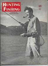 Hunting and Fishing Magazine June 1946