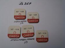 OMEGA 267 NO. 1109,1110