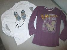 2 T-shirt fille  MONOPRIX   taille  5/6 ANS