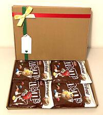 M&M's Chocolate Sharing Bags (4x250g) Hamper NEW SPECIAL XMAS BIRTHDAY