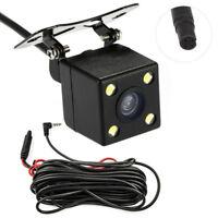 4Led Lamps Car Recorder Camera Night Vision HD CDD Rear View Camara  2.5mm Jack