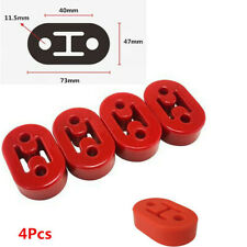 2Holes 11.5mm Polyurethane Mounts Brackets Hanger For Car Exhaust Pipe Silencer
