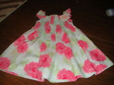 NWT NEW BOUTIQUE JANIE AND JACK 18-24 FLORAL DRESS '13 2013