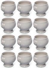 12 Set Terrina, Fuente de sopa, porcelana, blanco, 1 Litros